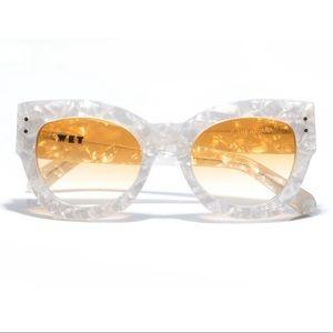Free People Accessories - WET eyewear Havana sunglasses